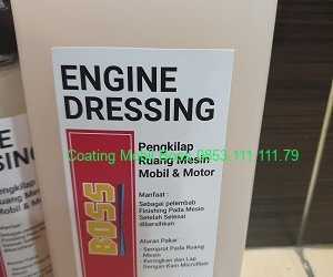 Engine Dressing 1 liter -coatingmobilboss.com