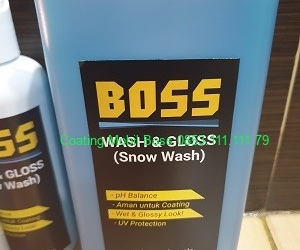 Shampo Snow Wash 1 liter 0853.111.111.79 coatingmobilboss.com