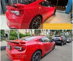 Beda Coating Mobil dengan Poles Mobil -coatingmobilboss.com